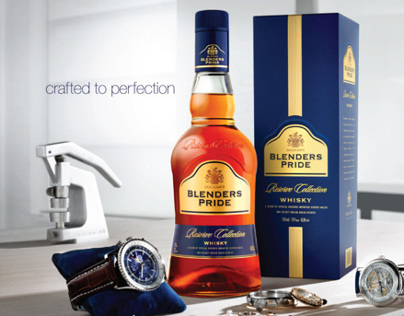 Product Campaign for Blenders Pride Reserve Collection
