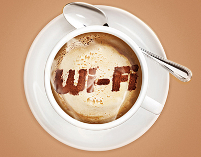 Wi-fi promo illustration