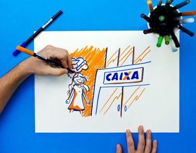 FIES DA CAIXA I Stop Motion - Time lapse - Caneta Tombo