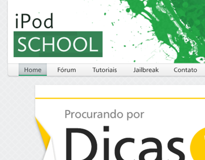 iPod School Destaque Origami