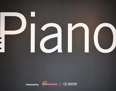 The Piano Exhibition Graphics