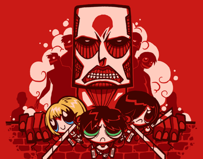 Attack on Townsville Tee Design