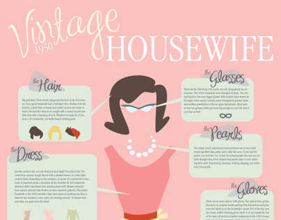 The 1950's Vintage Housewife