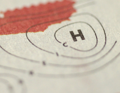 Postage stamp »Weitere Aussichten«