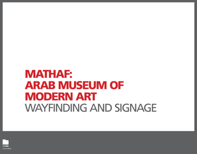Museum Wayfinding and Signage