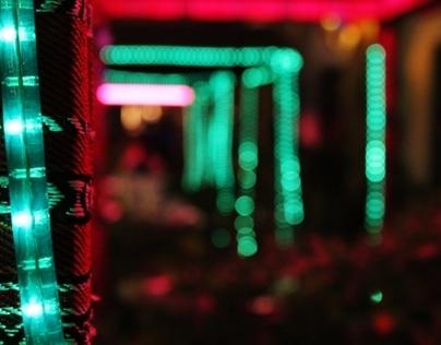 Souq Waqif at Night.