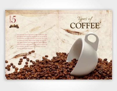 Coffee Book Design