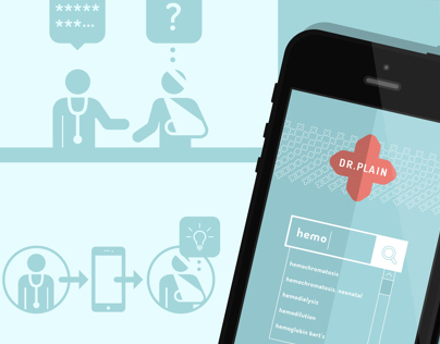 Dr.Plain medical mobile app