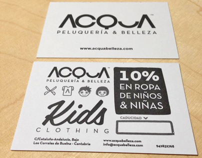 DISCOUNT CARD FOR ACQUA