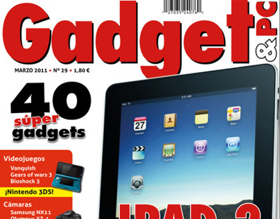 Cover Redesign of Gadget & Pc Magazine