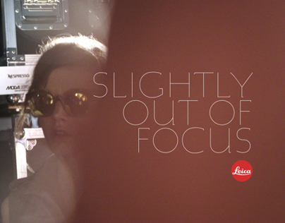 Slightly out of focus. The story of Leica in Fashion