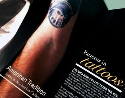 American Traditions: Tattoo Brochure.