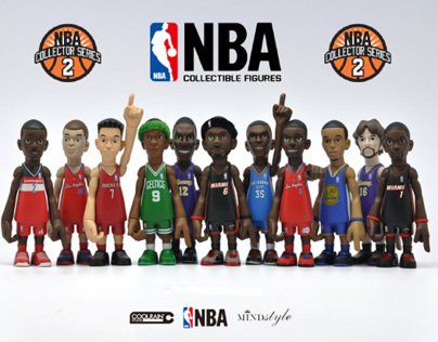 NBA Art toy series / since 2010