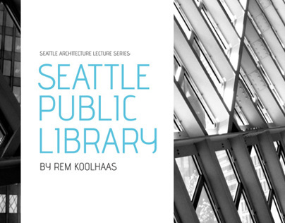 Seattle Architecture Lecture Series Postcards