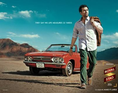 Royal Stag Cricketers Campaign