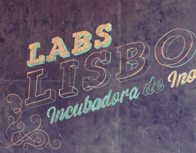Labs Lisboa Chalk Typography