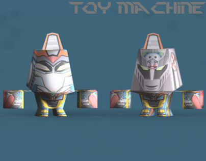Toy Machine Mix Character series