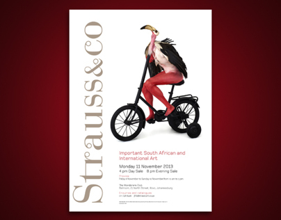 Strauss & Co Auction posters for November 2013