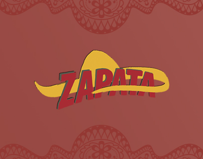 Anuncio de Revista - Zapata Mexican Bar