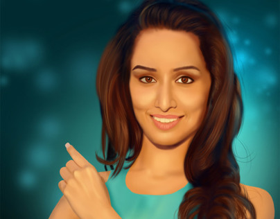 Shraddha Kapoor | Digital Painting