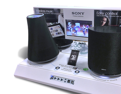 Sony POS graphics