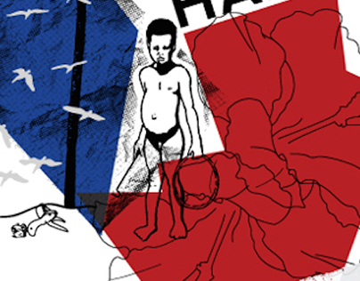 Haiti Awareness Silkscreen Print