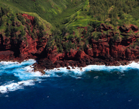 Aerial View Photography of Maui, Hawaiian Islands