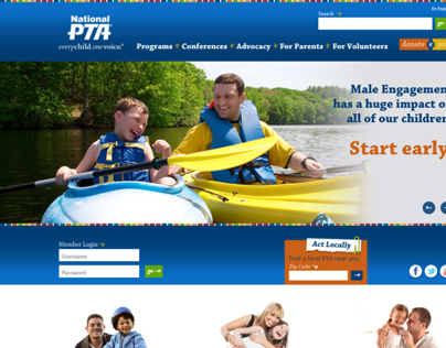 National Parent Teacher Association (PTA) Website