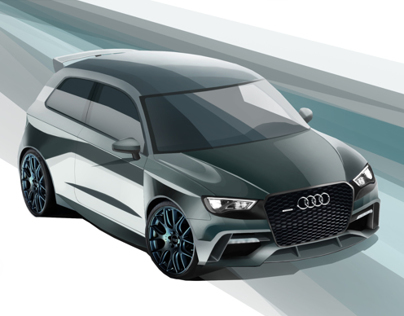 Audi RS3 Design Project