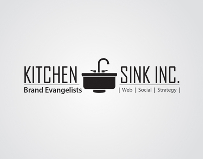 Few option for a logo Kitchen Sink Inc.