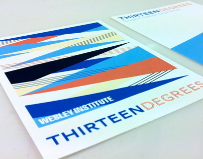Thirteen Degrees: Graphic Design Grad Show