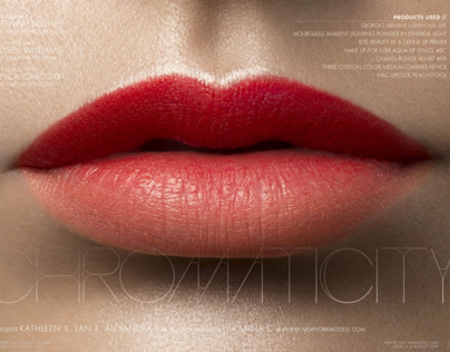 Chromaticity - TWO Magazine Beauty Story