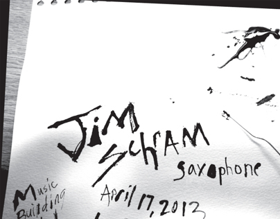 Gig Poster for Jim Schram