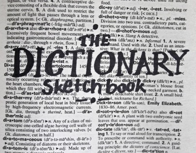 The Dictionary Sketchbook
