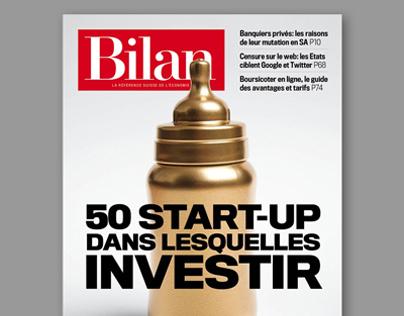 BILAN magazine COVERS