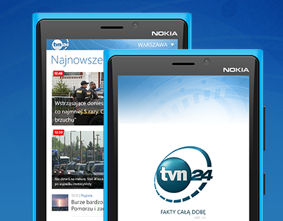 TVN24 Windows Phone App