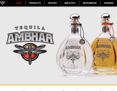 Tequila Ambhar Website