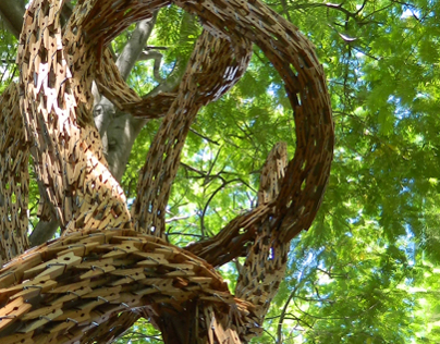 Blending with Nature: Gerry Stecca Sculpture