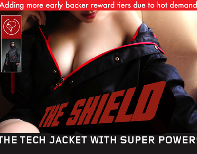 The Shield: Tech Jacket with Super Powers