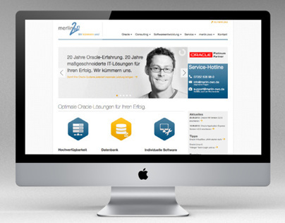 Webdesign for merlin.zwo