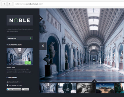 Noble | WordPress Theme