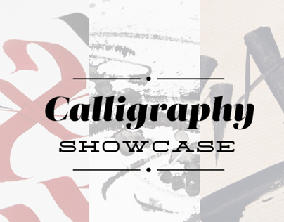 Calligraphy Showcase