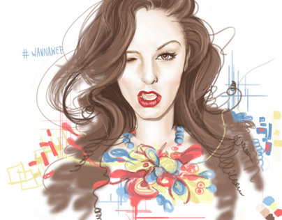 Cher Lloyd •• (Digital painted)