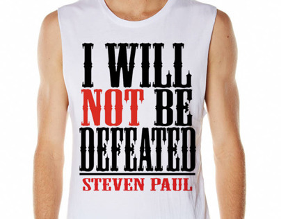 I Will Not Be Defeated Tee