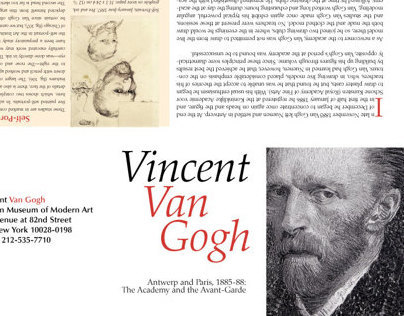 Vincent Van Gogh Exhibition Guide