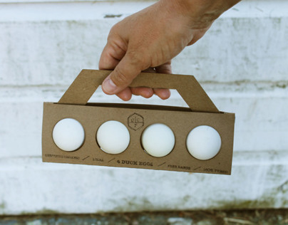 Cowberry Crossing Farm: Egg Packaging