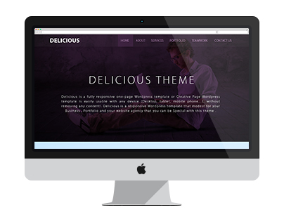 Delicious Wordpress Theme