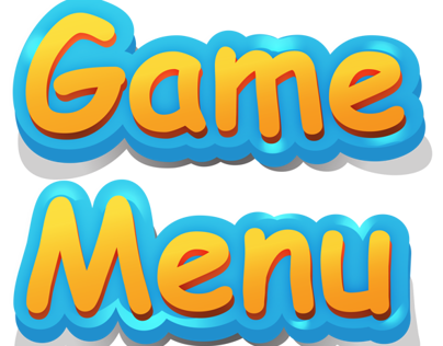 Game Menu Gui
