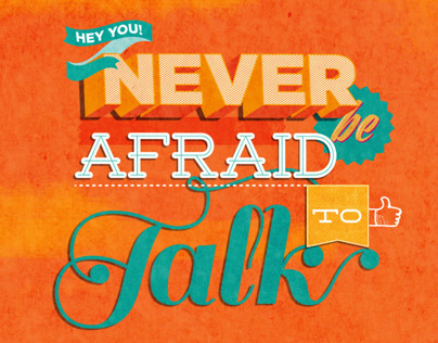 GO Freshers Week Campaign: Never be afraid to talk