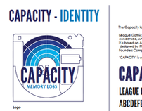 Capacity - Lost Formats Exhibition Branding